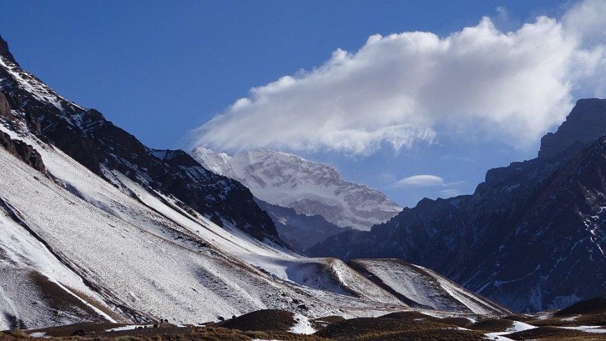 Aconcagua Anden argentinien