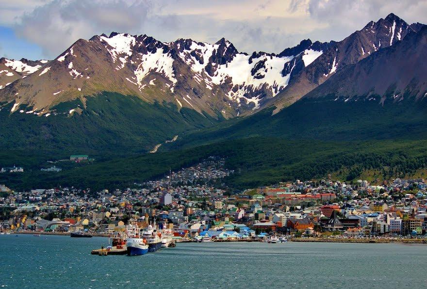Ushuaia Feuerland Patagonien Argentinien