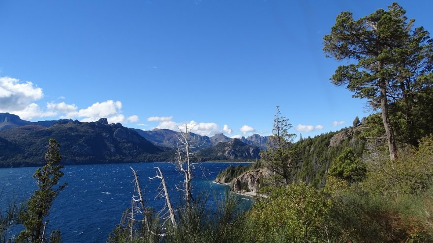 Lago Traful Argentinische Schweiz Seenregion Patagonien Argentinien
