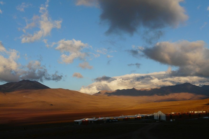 Bolivien Altiplano Siloli Wüste