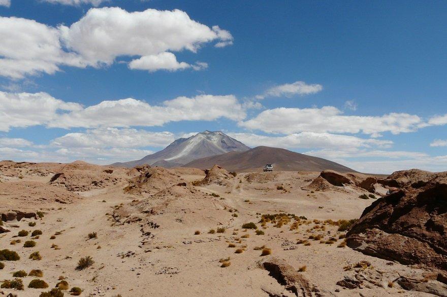 Bolivien Altiplano Vulkan Ollagüe