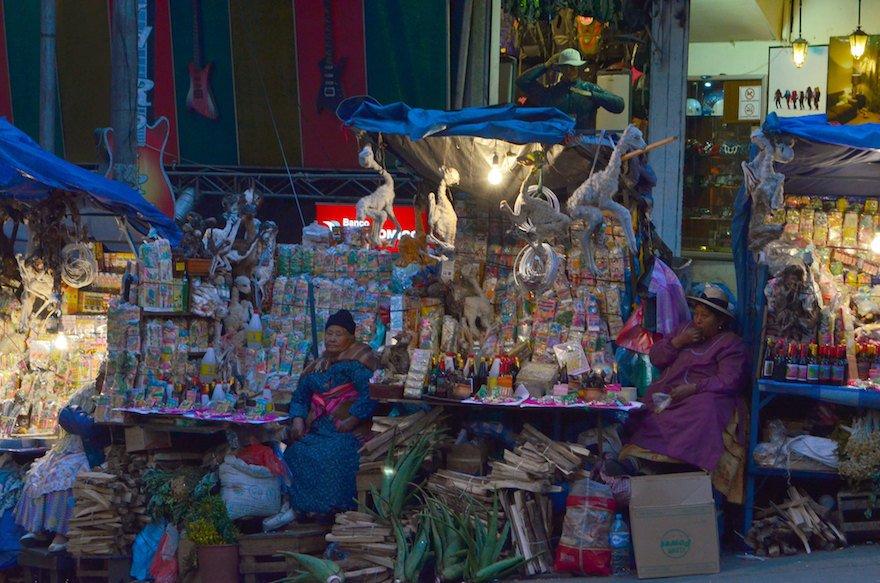 Bolivien La Paz Hexenmarkt