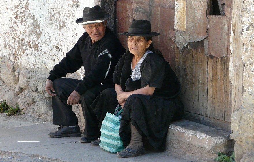 Bolivien Potosi Menschen