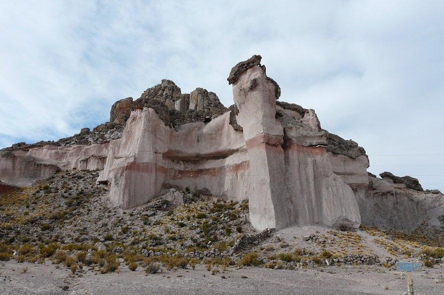 Bolivien Salar de Uyuni Pucara de Chiquini