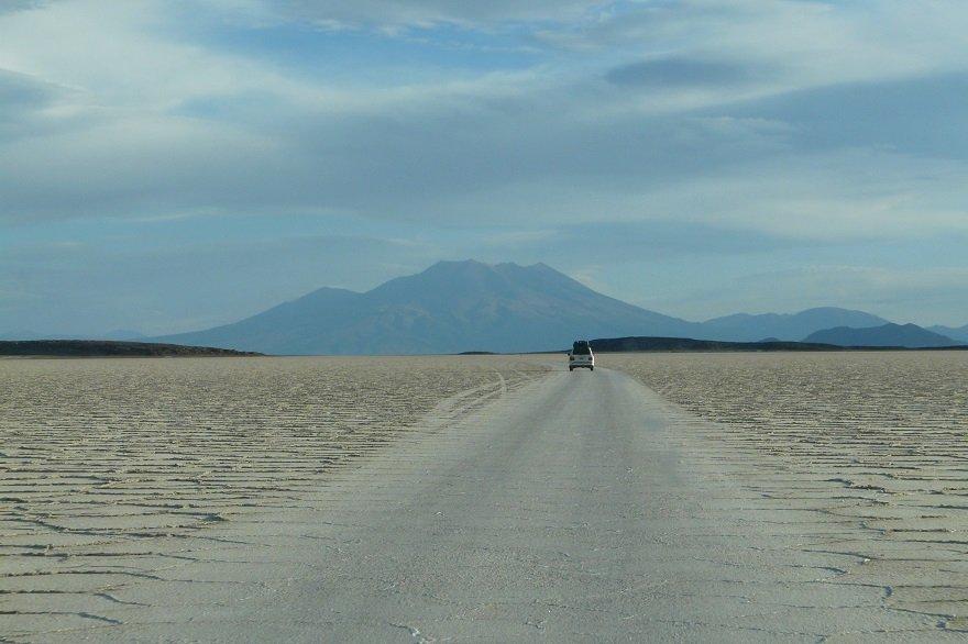 Bolivien Salar de Uyuni Straße