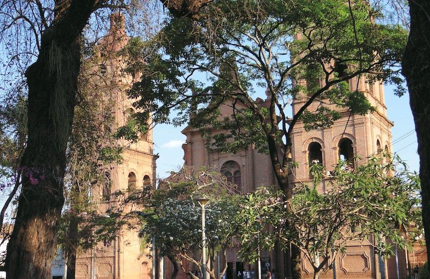 Bolivien Santa Cruz de la Sierra Kathedrale Plaza de Armas