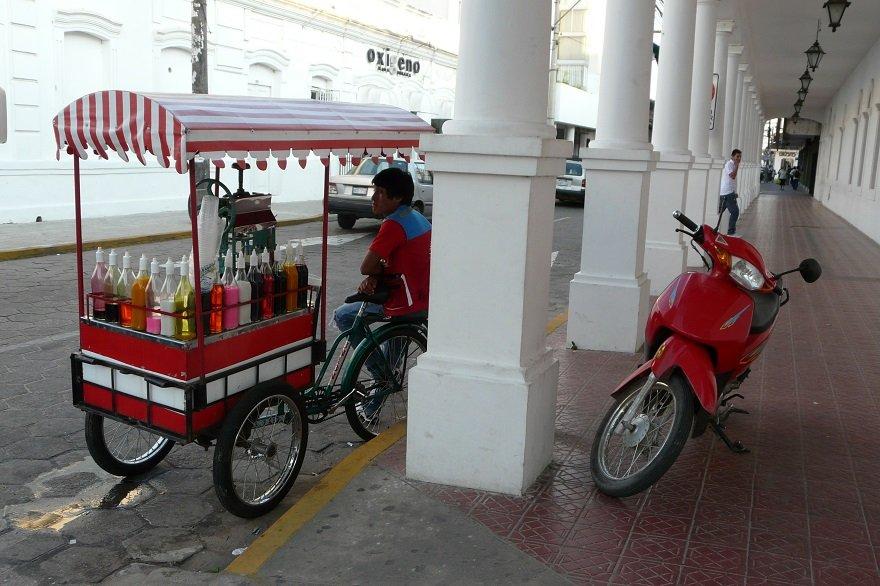 Bolivien Santa Cruz de la Sierra mobiler Marktstand