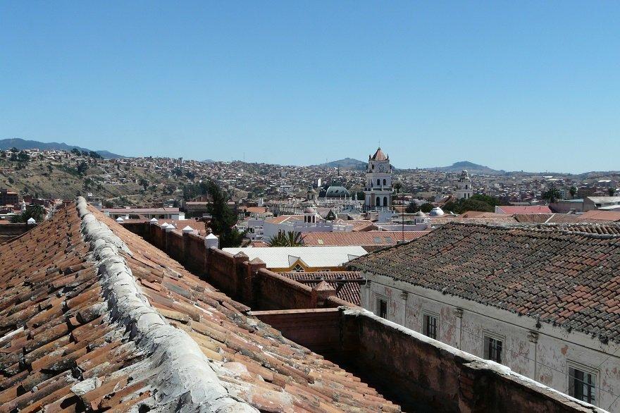 Bolivien Sucre Stadtbild
