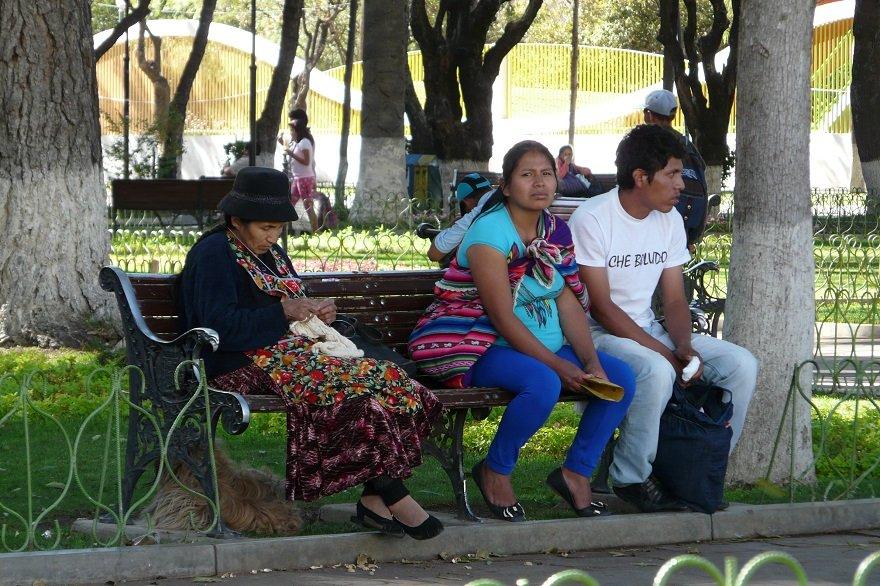 Bolivien Sucre Parque Bolivar
