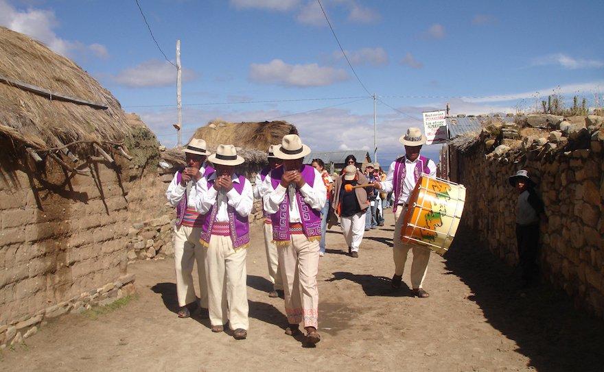 Bolivien Titicaca See Sonneninsel Challapampa