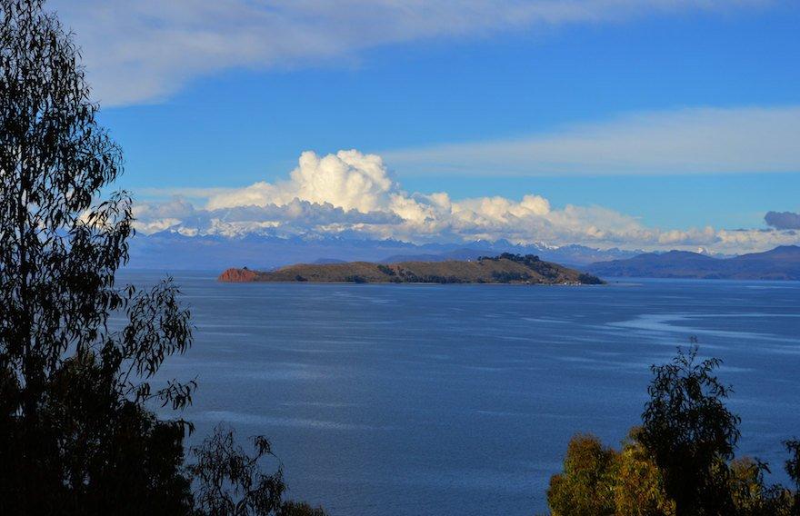 Bolivien Titicaca See Mondinsel