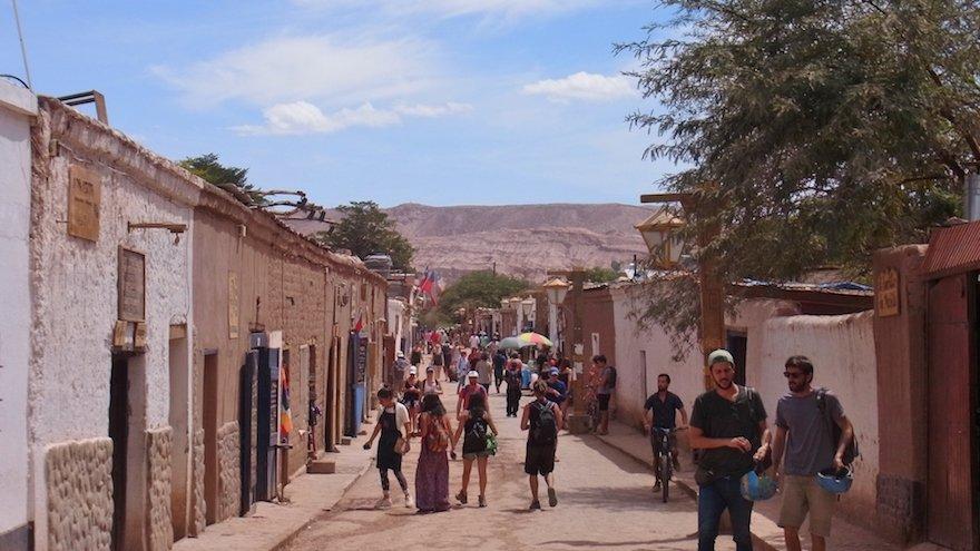 San Pedro de Atacama Dorf Oase Chile