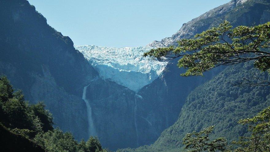 Queulat-Gletscher Carretera Austral Patagonien Chile