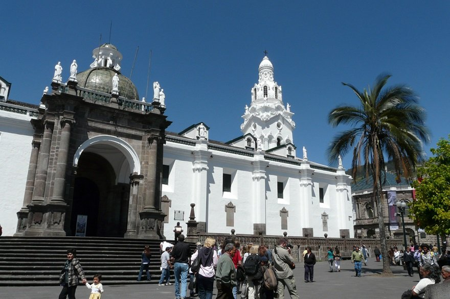 Ecuador Quito Kathedrale