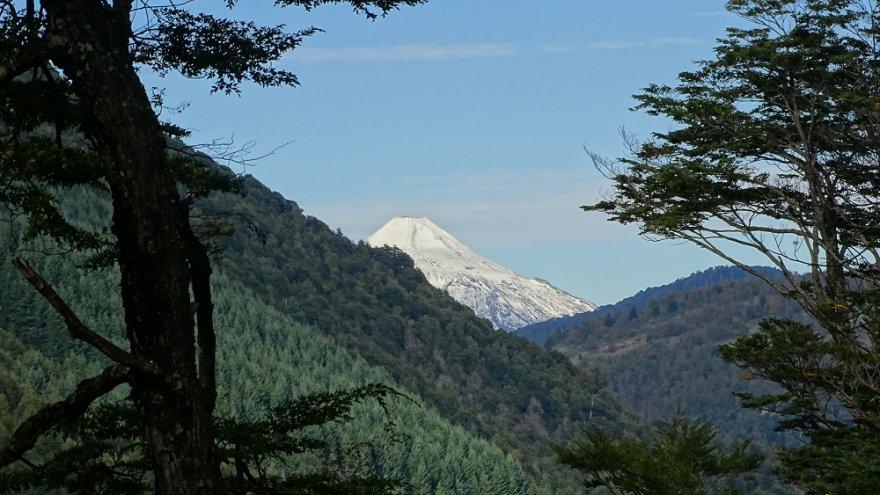 Nationalpark Huerquehue seenregion kleiner süden araukarien vulkan chile