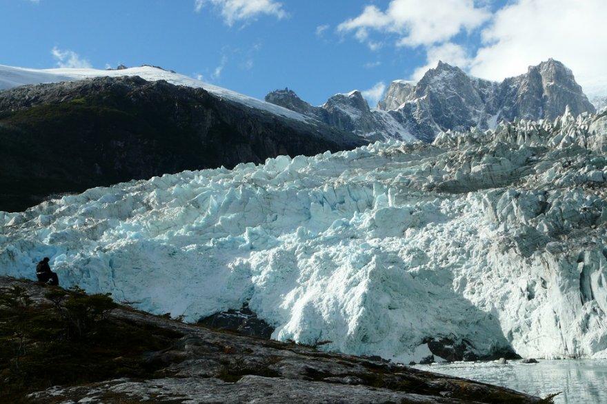 Pia Gletscher patagonien chile cruceros australis kap hoorn nationalpark alberto de agostini