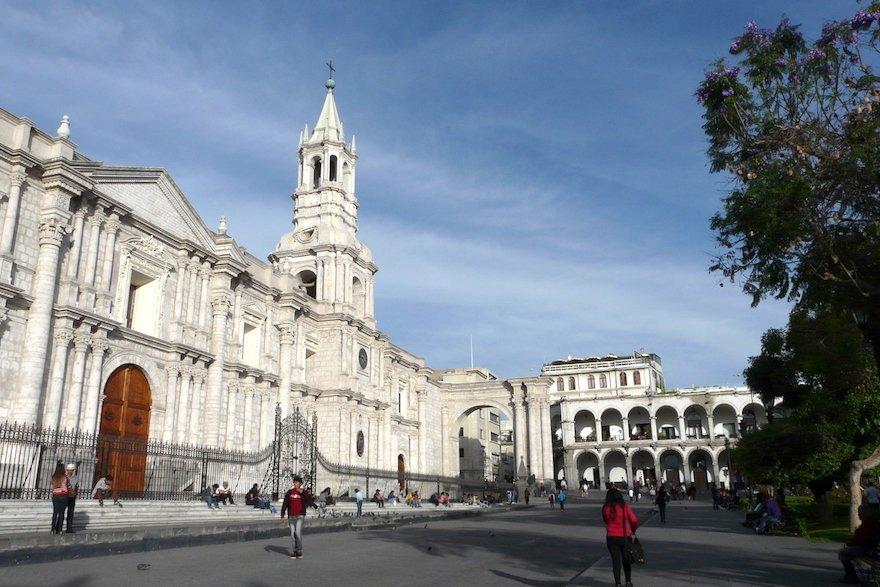 Kathedrale Arequipa Peru