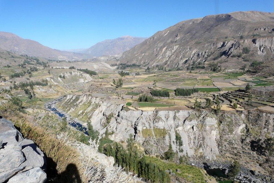 Colca Tal Peru Canyon