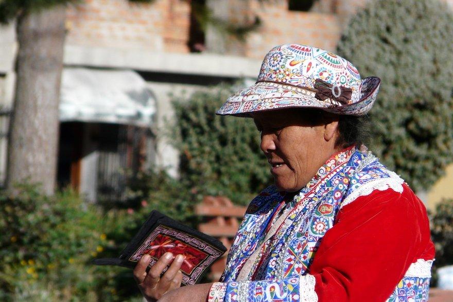 Markt Colca Peru