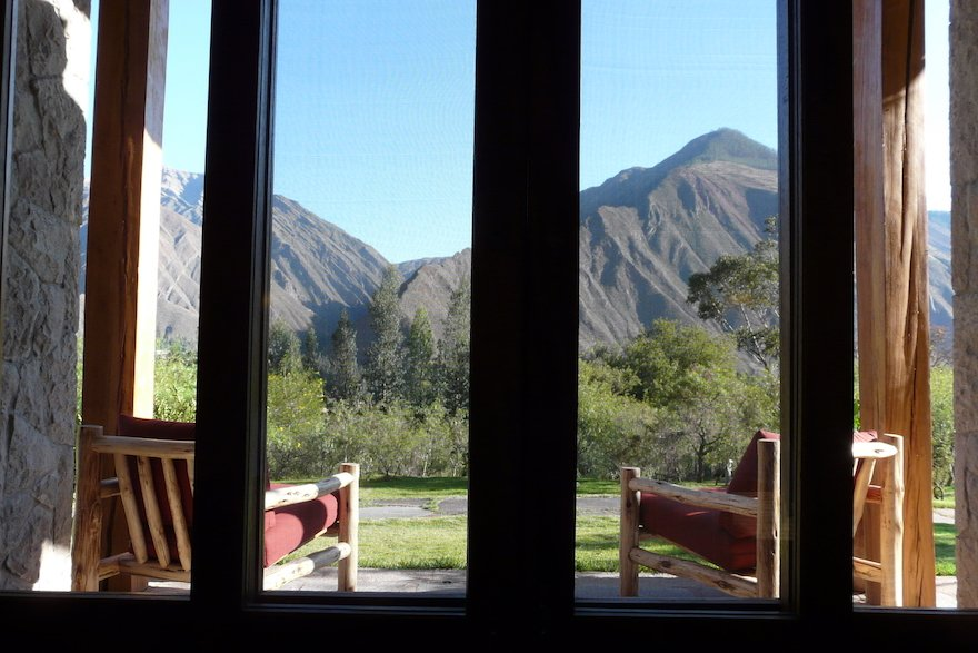 Heiliges Tal Ausblick Hotel Peru