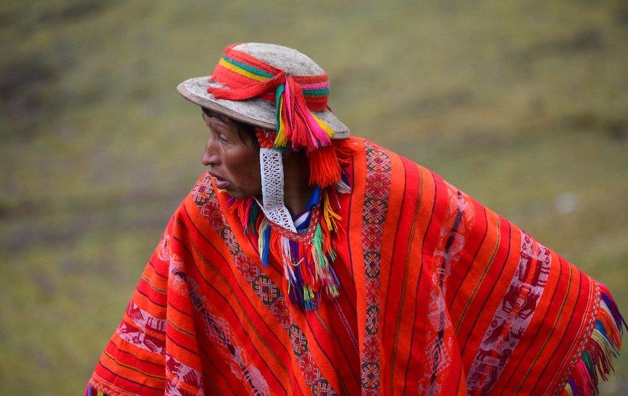 Peru Inka Trail Peruaner