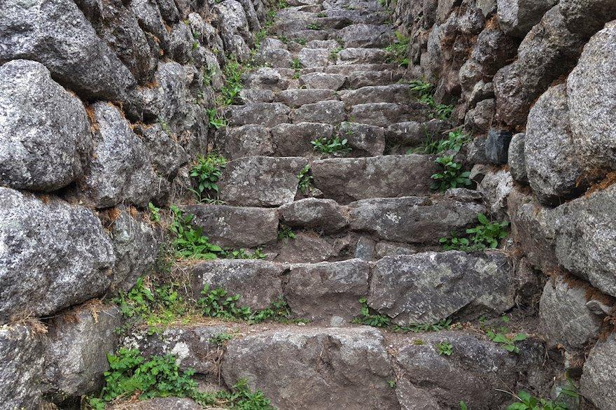 Peru Inka Trail Stufen