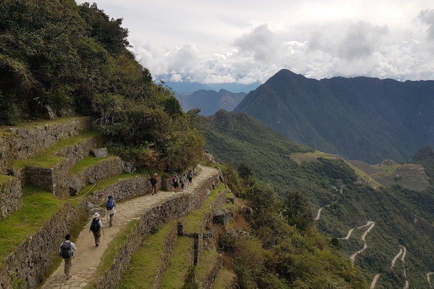Peru Inka Trail Sonnentor Machu Picchu