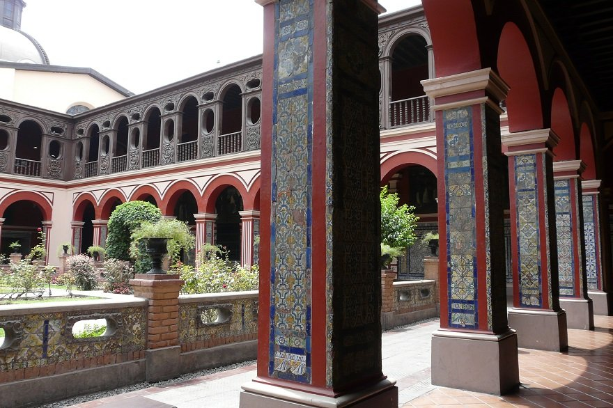 Kloster Santo Domingo Lima Peru