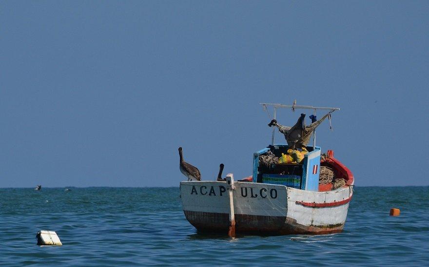 Peru Nordküste Acapulco Fischerboot