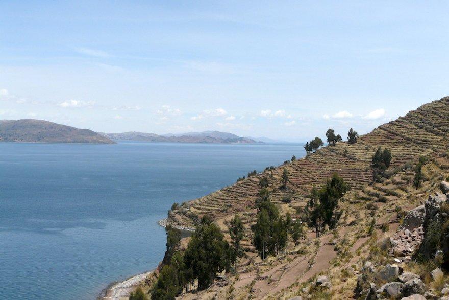Insel Taquile Titicaca See Peru