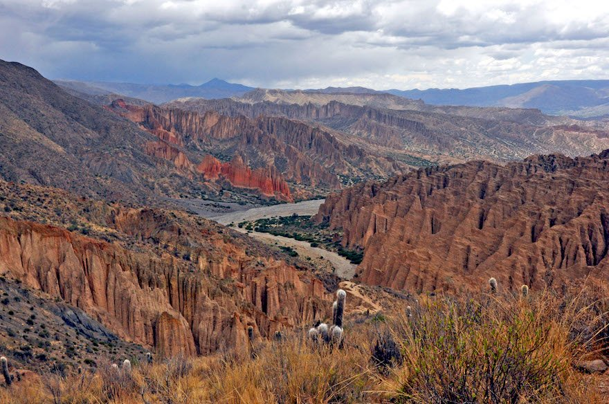 Bolivien Süden Tupiza Altiplano Mirador El Sillar