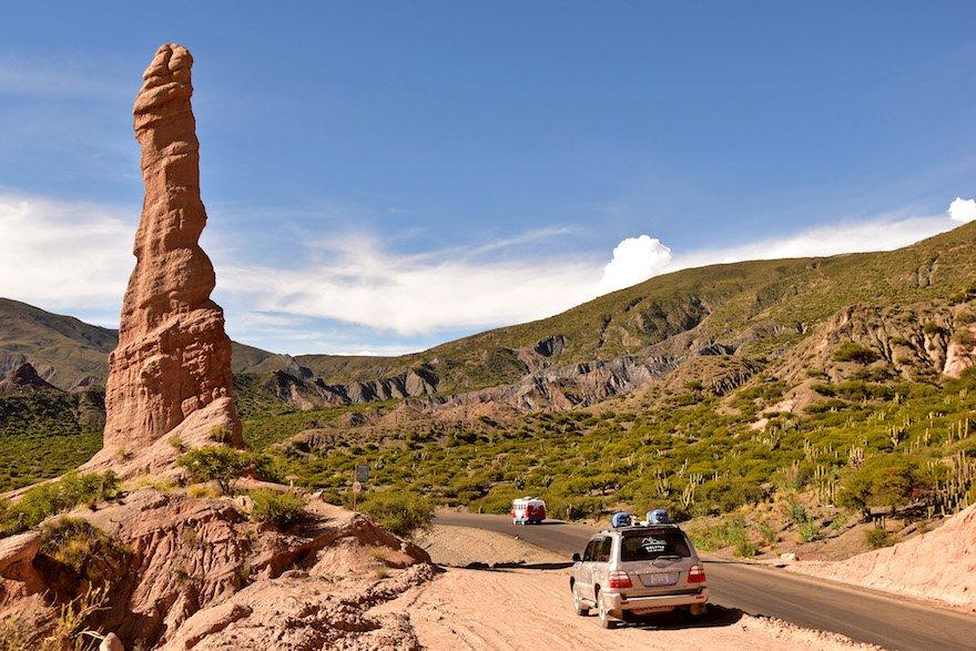 Bolivien Süden Tupiza Altiplano La Poronga