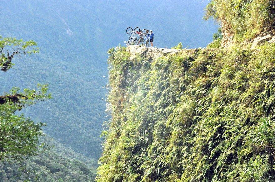 Bolivien Yungas Camino de la Muerte Fahrrad