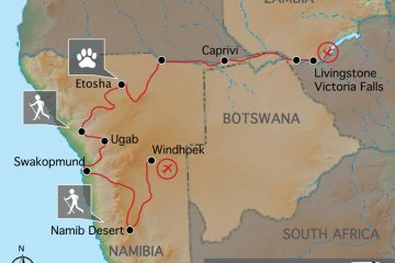 Best of Namibia & Zambezi